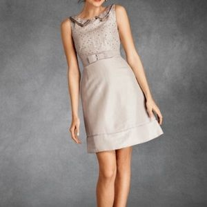 BHLDN Hitherto Pastille Beaded Silk Mini Dress 6
